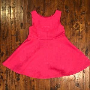 Kate Spade Sleeveless Hot Pink Open Back Dress 3T